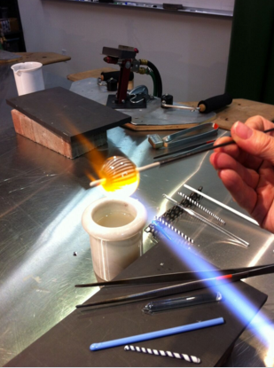 Introduction to Flameworking<br> Weekend Workshop <br> Sat & Sun, March 10 & 11, 2018