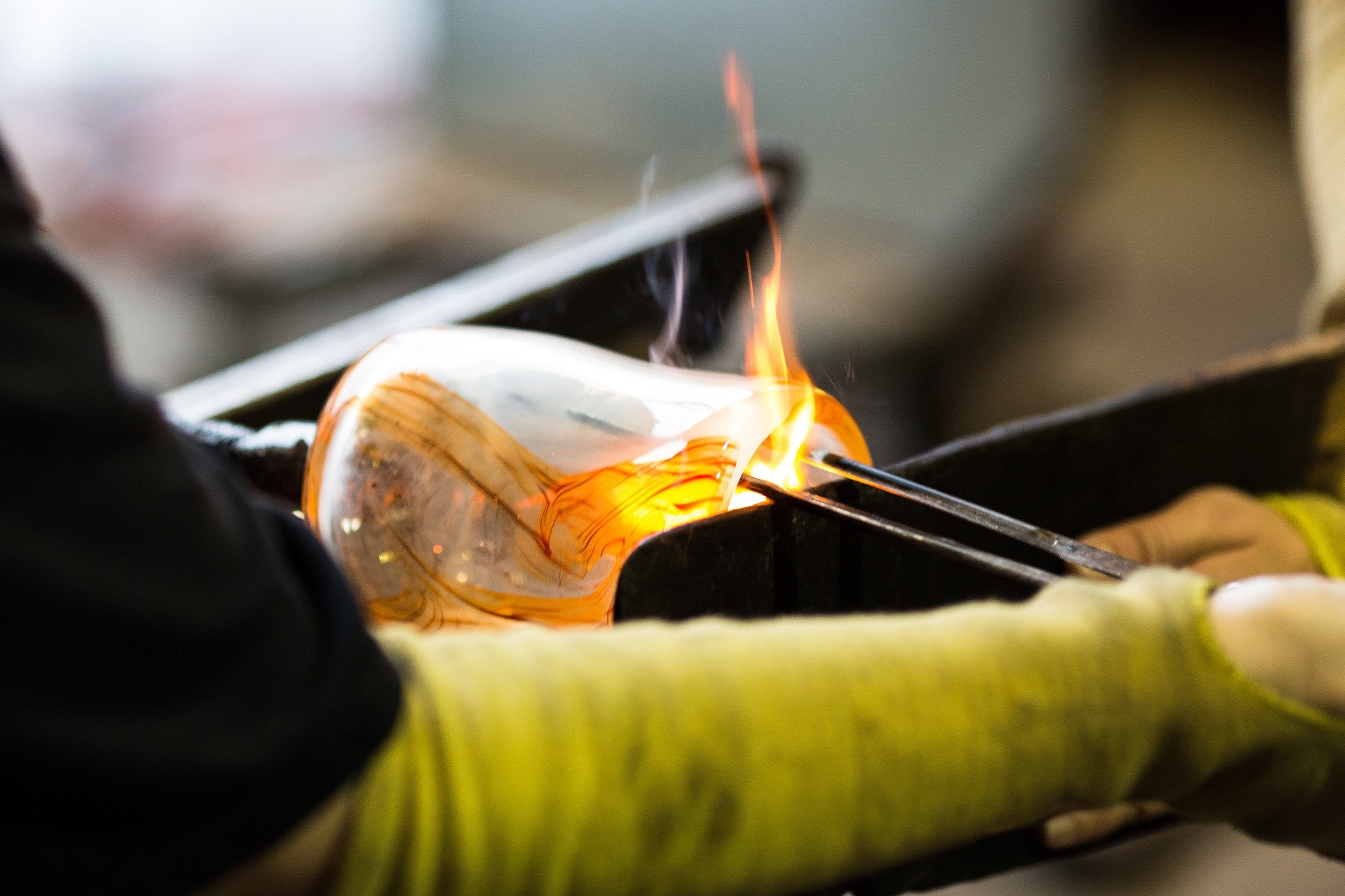 Introduction to Glassblowing <br> Weekend Workshop <br> Feb 24 & 25, 2018