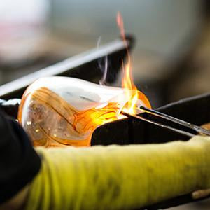 Introduction to Glassblowing<br> Weekend Workshop <br> April 28 & 29, 2018