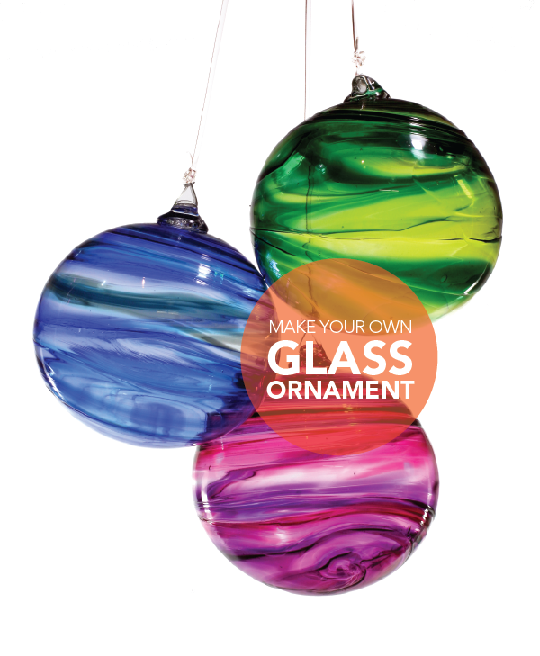 Make a Glass Ornament<br>Saturday, December 7 2019