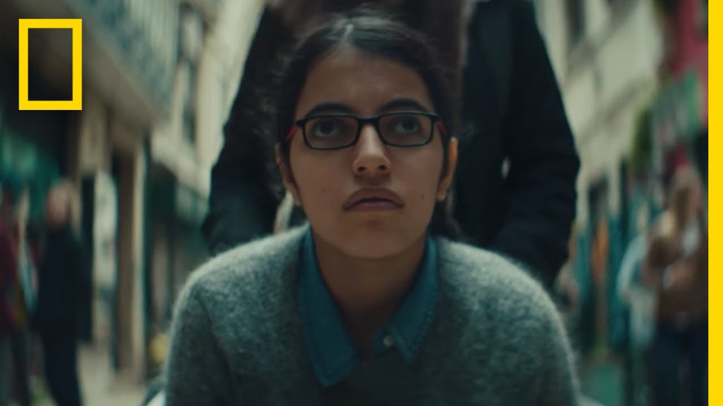 National Geographic Tells the Fearless Story of Nujeen Mustafa in this Stunning Ad