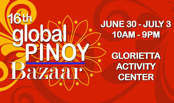 Join us at the 16th Global Pinoy Bazaar!