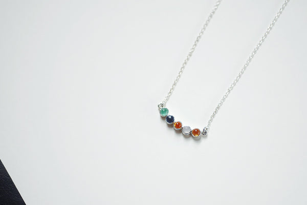 Natural Birthstone Necklace