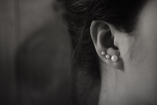 Pearl Large Ear Climbers
