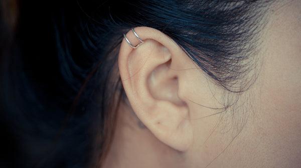 Double Band Cartilage Ear Cuff