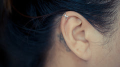 Cross Cartilage Ear Cuff