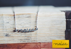 Custom Handwriting Necklace
