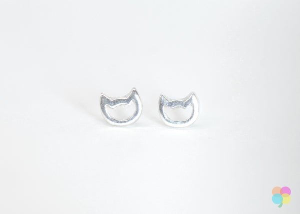Cat Earring Studs