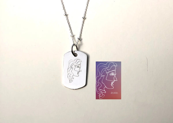 Custom Artwork Necklace