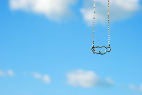 Fat Cloud Necklace