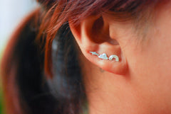 Rainbow, Cloud and Lightning Ear Climbers