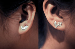 Love And Light Ear Climbers