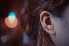 Lyra Constellation Ear Climbers