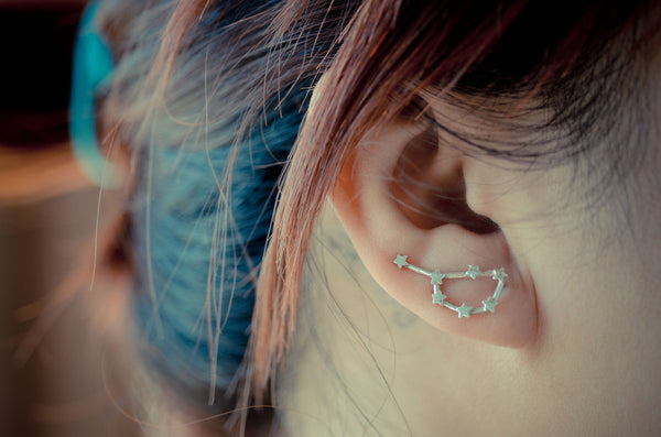 Pleiades Constellation Ear Climbers