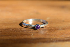 Birthstone Stackable Rings