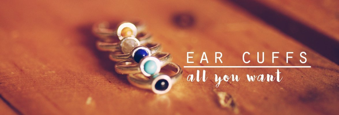 October Birthstone Ear Climbers