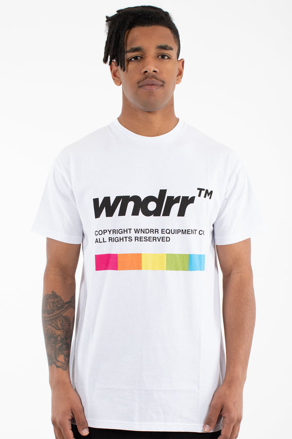 RECORDER CUSTOM FIT TEE - WHITE