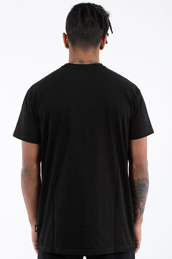 RECORDER CUSTOM FIT TEE - BLACK