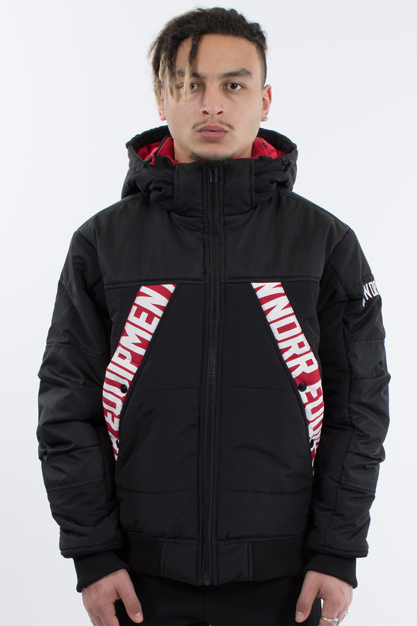 HIGH POINT TECH PUFFER JACKET - BLACK