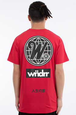 CAPTIAL CUSTOM FIT TEE - RED