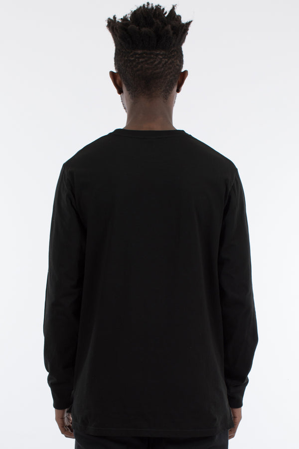 ALTITUDE LONG SLEEVE TEE - WASHED BLACK