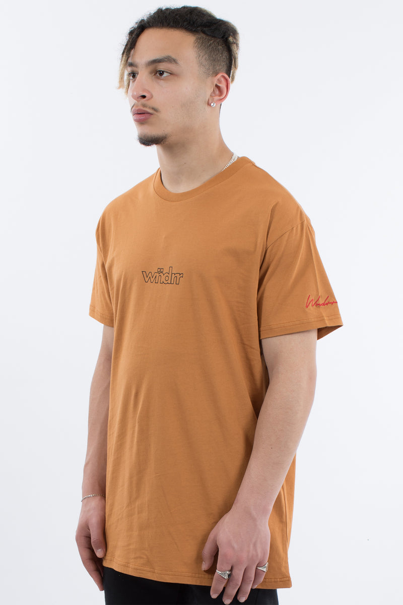 PUSH CUSTOM FIT TEE - ALMOND