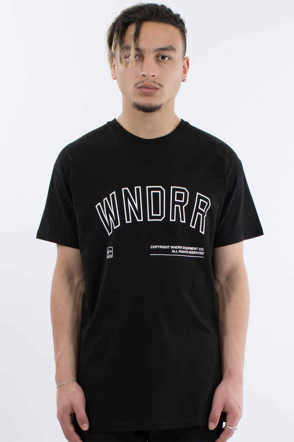 SABER CUSTOM FIT TEE - BLACK