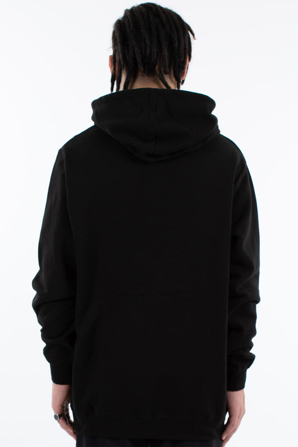 MANIFEST HOOD SWEAT - BLACK