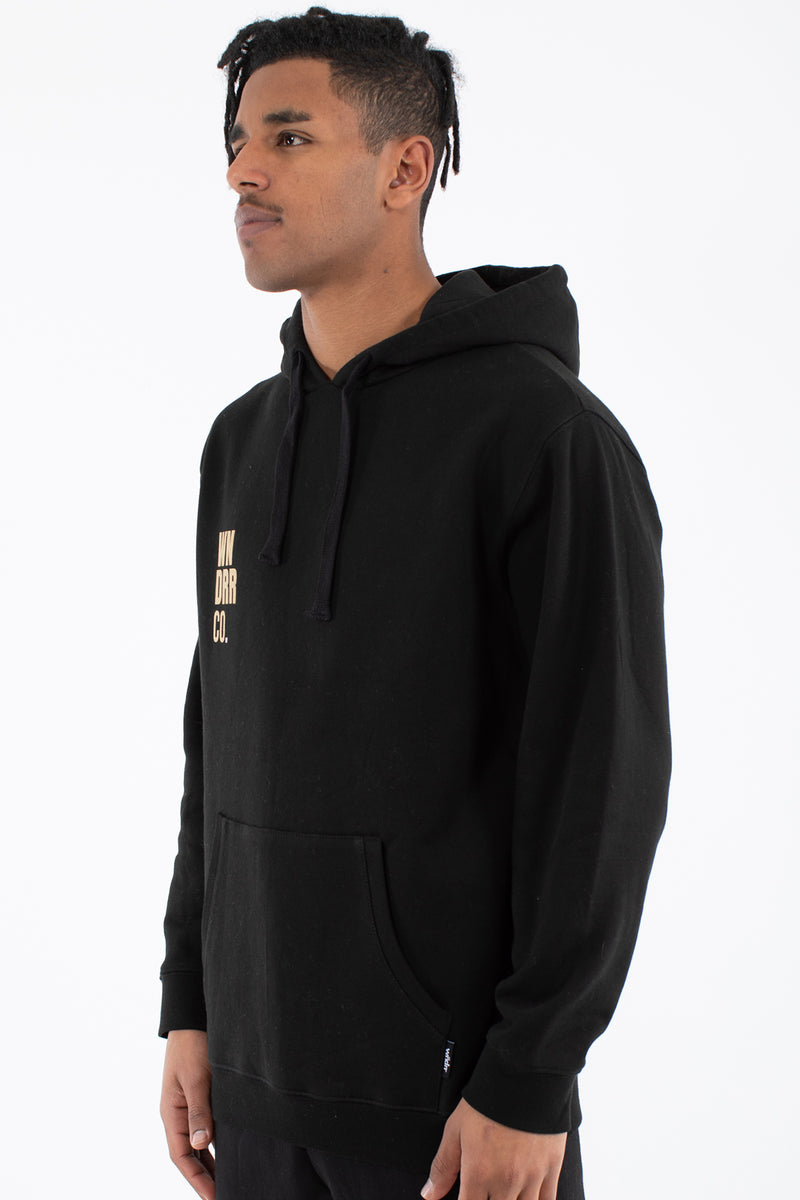 CO HOOD SWEAT - BLACK