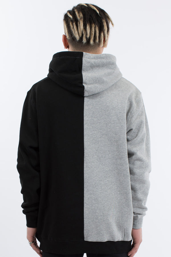 RIFT HOOD SWEAT - GREY/BLACK