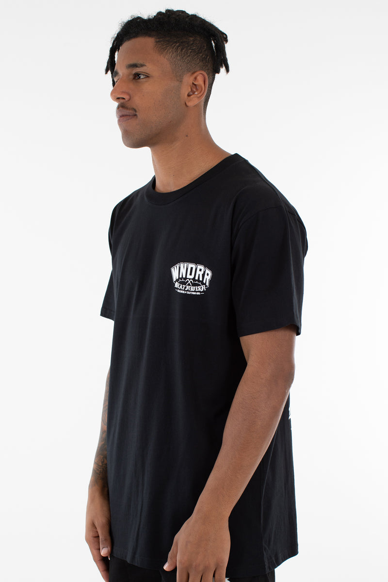 DEATHWISH CUSTOM FIT TEE - BLACK