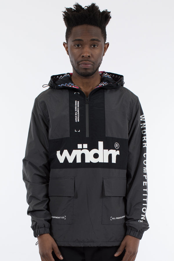 MERC SPRAY JACKET - BLACK