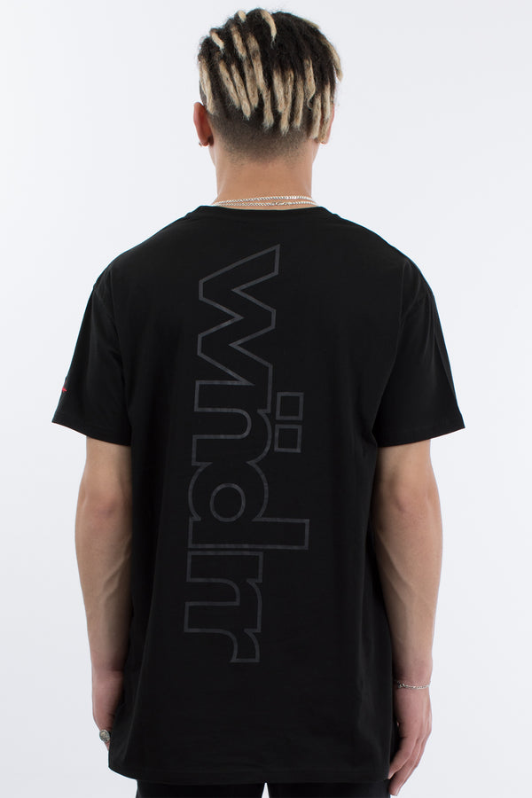 PUSH CUSTOM FIT TEE - BLACK