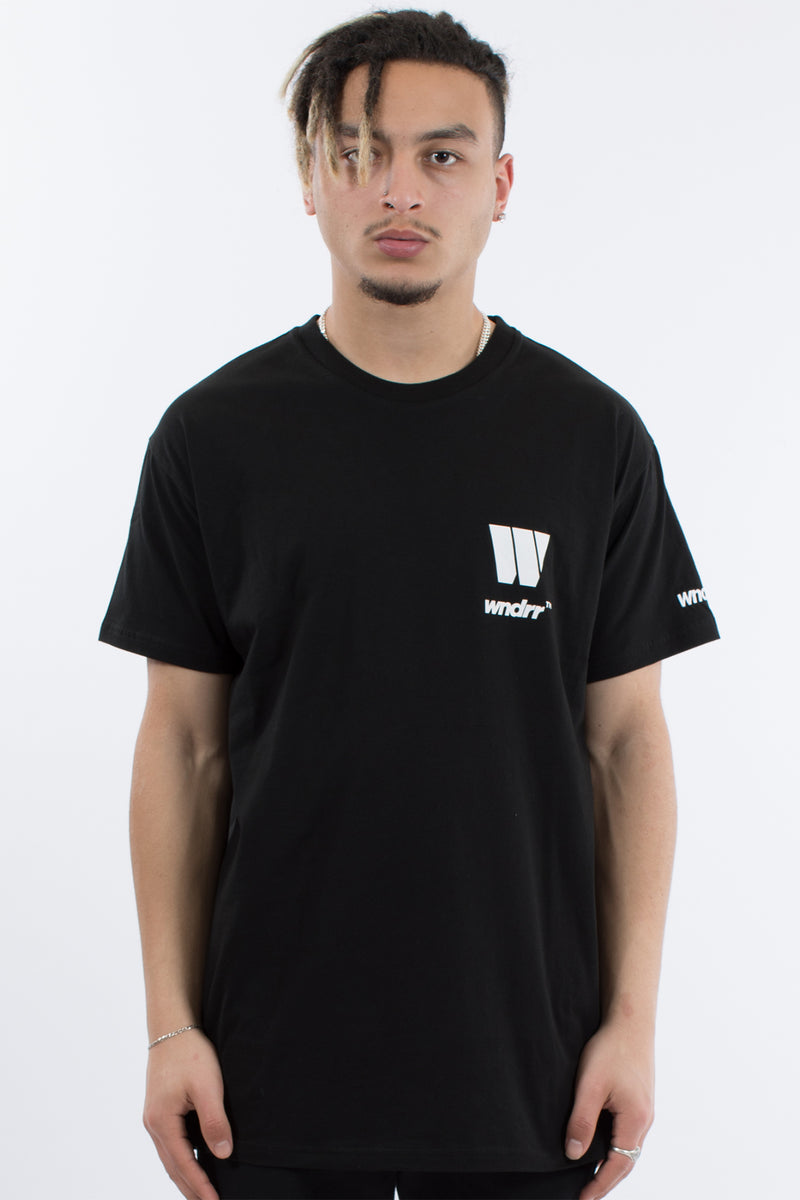 MOTOWN CUSTOM FIT TEE - BLACK