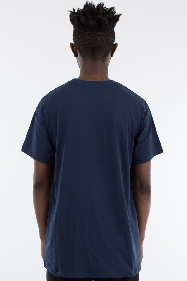 STRIDE CUSTOM FIT TEE - NAVY