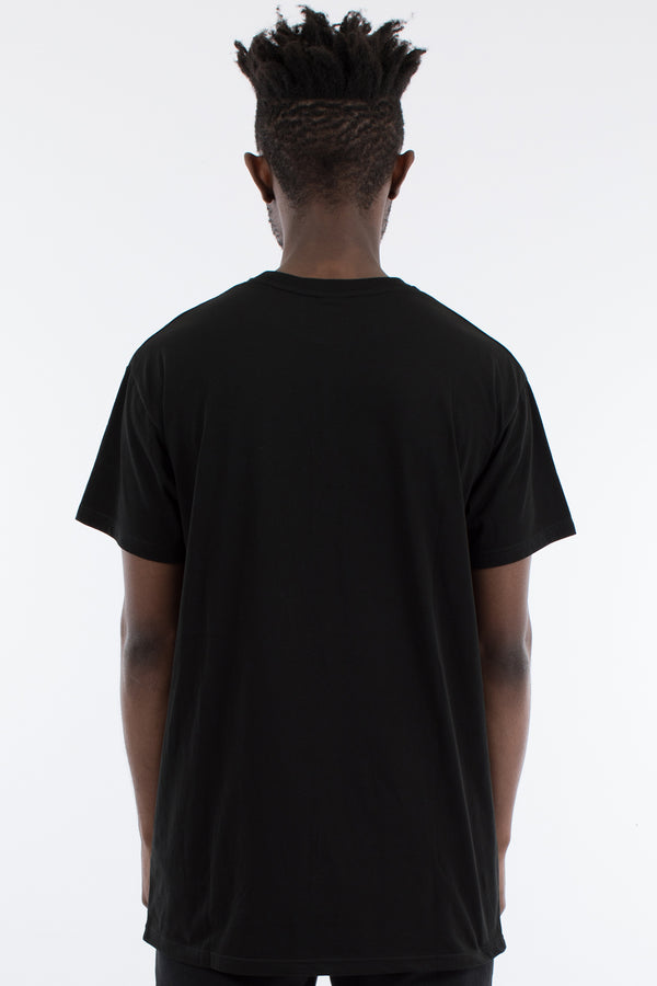 RACKS CUSTOM FIT TEE - BLACK