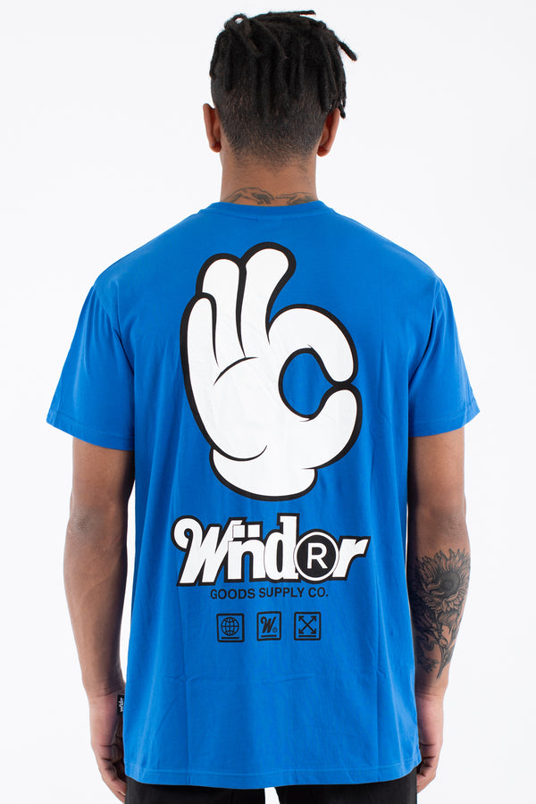 BILLY CUSTOM FIT TEE - ROYAL BLUE