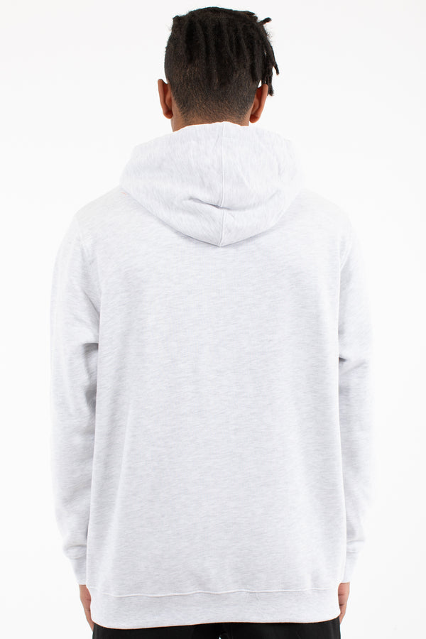 HOOPER HOOD SWEAT - WHITE MARLE