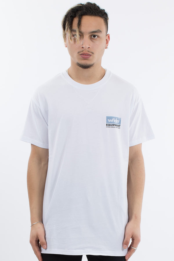 CODE CUSTOM FIT TEE - WHITE
