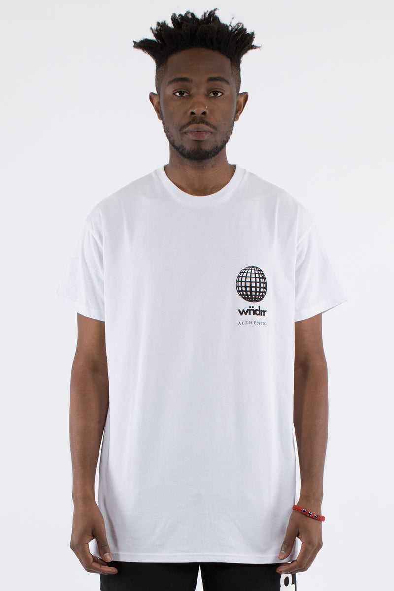 DEVISE CUSTOM FIT TEE - WHITE