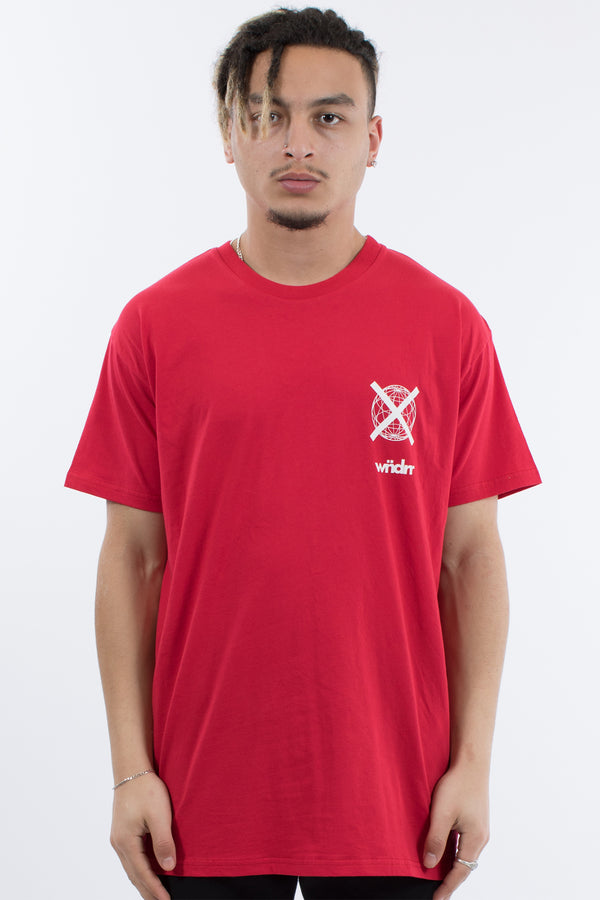 CLICK CUSTOM FIT TEE - RED