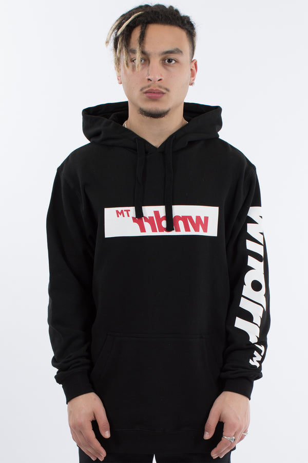 MARVEL HOOD SWEAT - BLACK