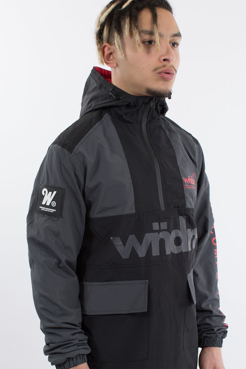 VANTA SPRAY JACKET - BLACK