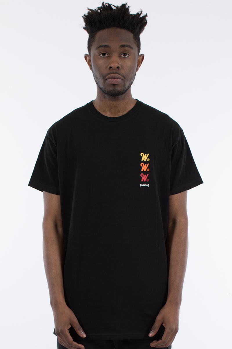 FLASH CUSTOM FIT TEE - BLACK