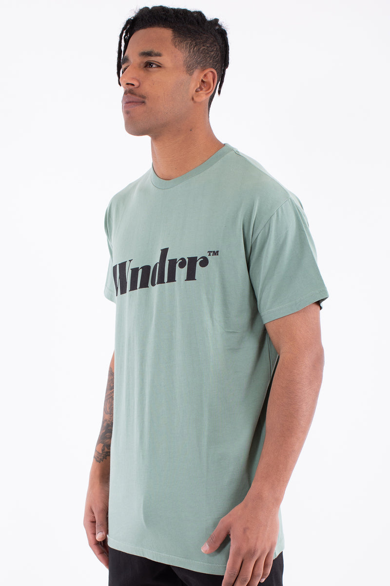 TREAD CUSTOM FIT TEE - OLIVE