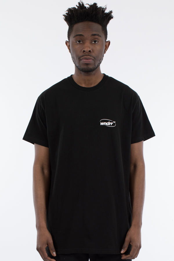 INFINITY CUSTOM FIT TEE - BLACK
