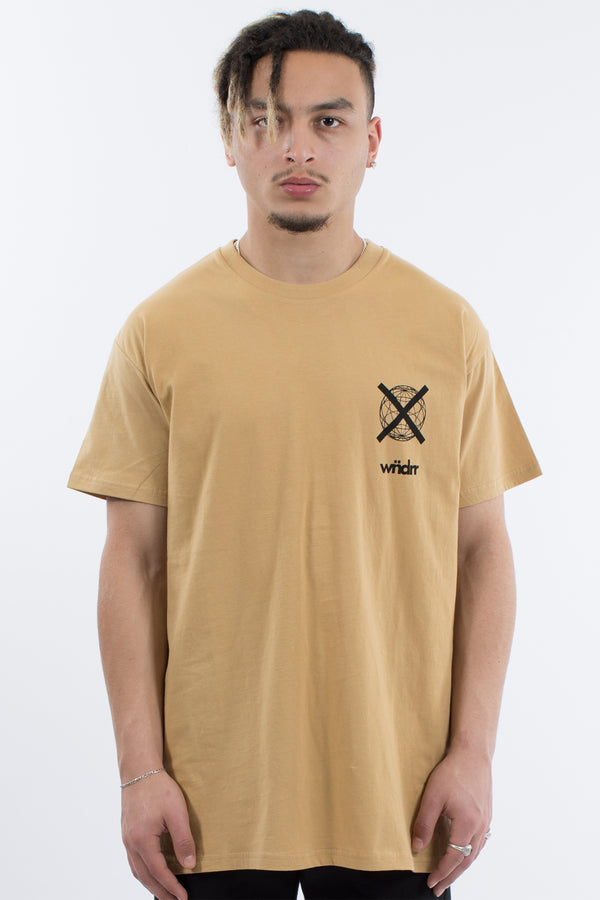 CLICK CUSTOM FIT TEE - TAN