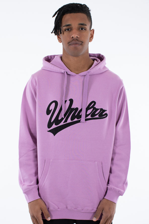 AMERICAN SAGA HOOD SWEAT - PURPLE