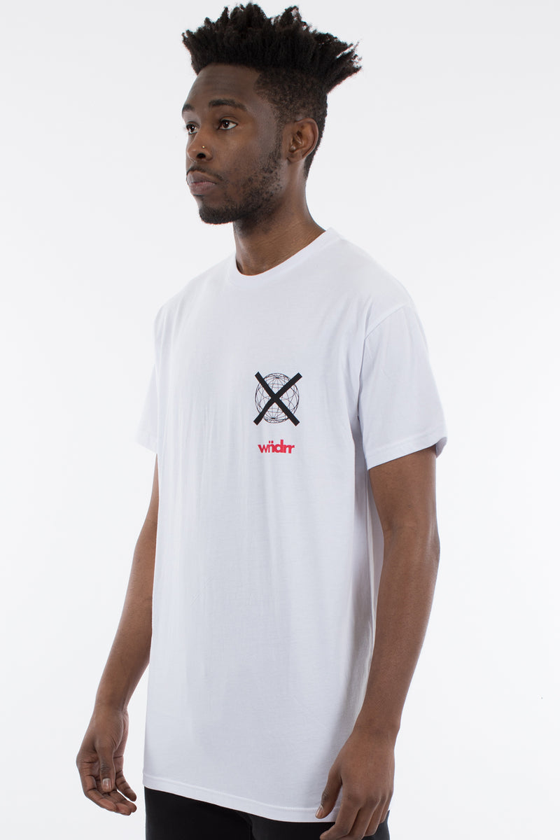 CLICK CUSTOM FIT TEE - WHITE