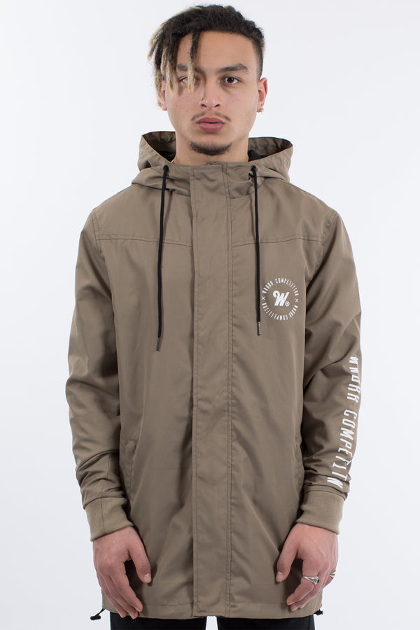 CARDINAL ANORAK JACKET - ARMY GREEN
